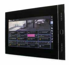 Die Touchpads von Divus liefern die dem Objekt angemessene Visualisierung, dank Android-Betriebssystem sind sie auch mit anderen Anwendungen nutzbar
