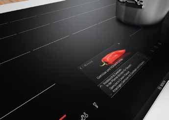 Das Kochbuch in der Induktionsplatte – so hat man mit Bosch sein Rezept immer im Blick