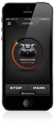 Alles per App im Griff: So lässt sich der Automower starten, stoppen, programmieren und sogar die Schnitthöhe verstellen