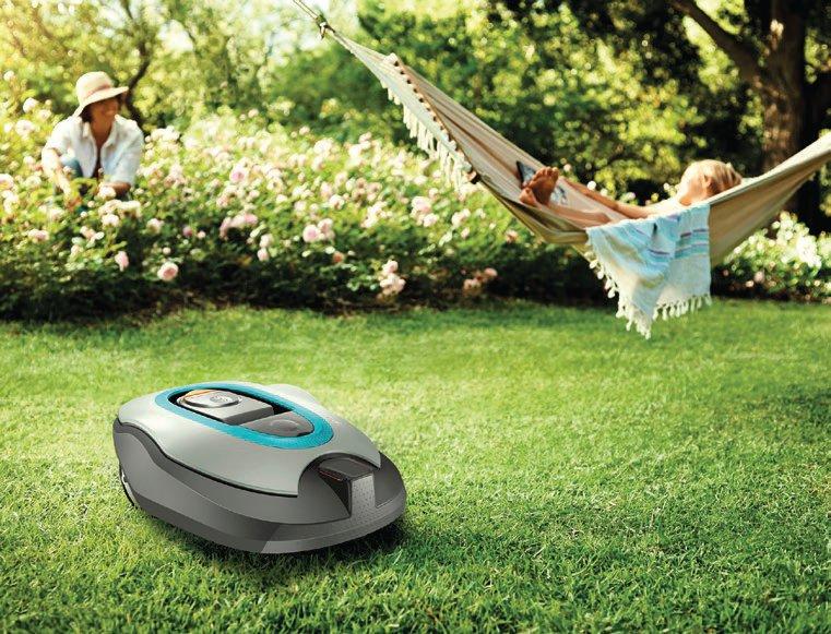 Die neuen Mähroboter namens SILENO bzw. SILENO+ lassen sich in die vernetzte Gartenwelt einbinden und per App abfragen und steuern