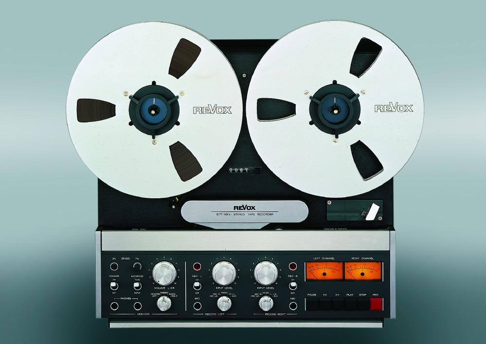 Lange Ahnenreihe: A77 und B77 hießen die Klassiker der Tonbandgräte aus dem Hause Revox, und auch heute sind die Bandboliden noch äußerst begehrt