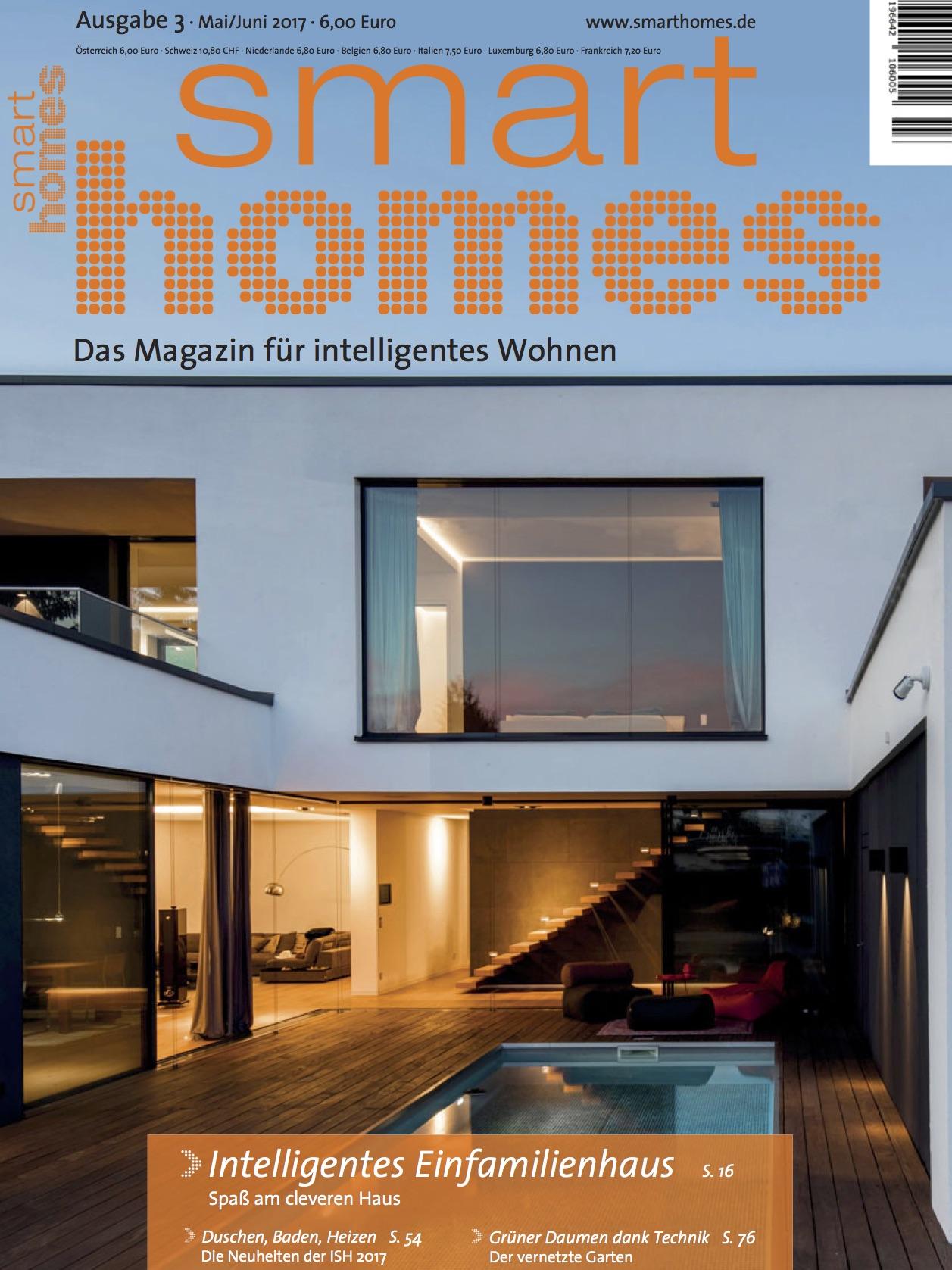 ausgaben archiv smart homes. Black Bedroom Furniture Sets. Home Design Ideas