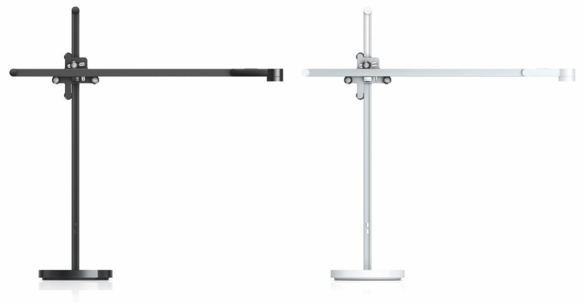 Lightcycle ist in Schwarz und Weiß sowie als Tisch- und Standleuchte erhältlich