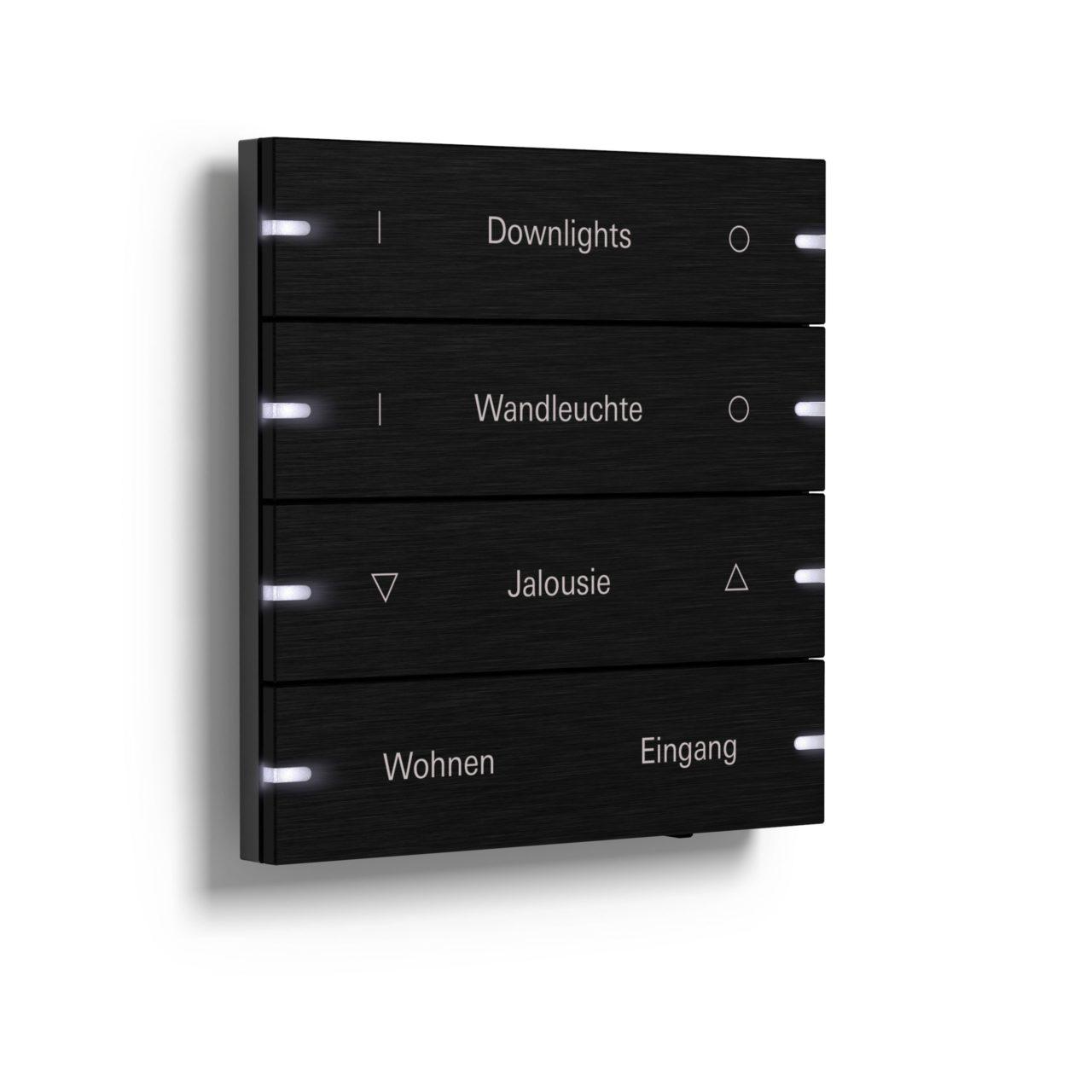 Der Gira Tastsensor 4 bietet den perfekten Mix aus Material und Technik