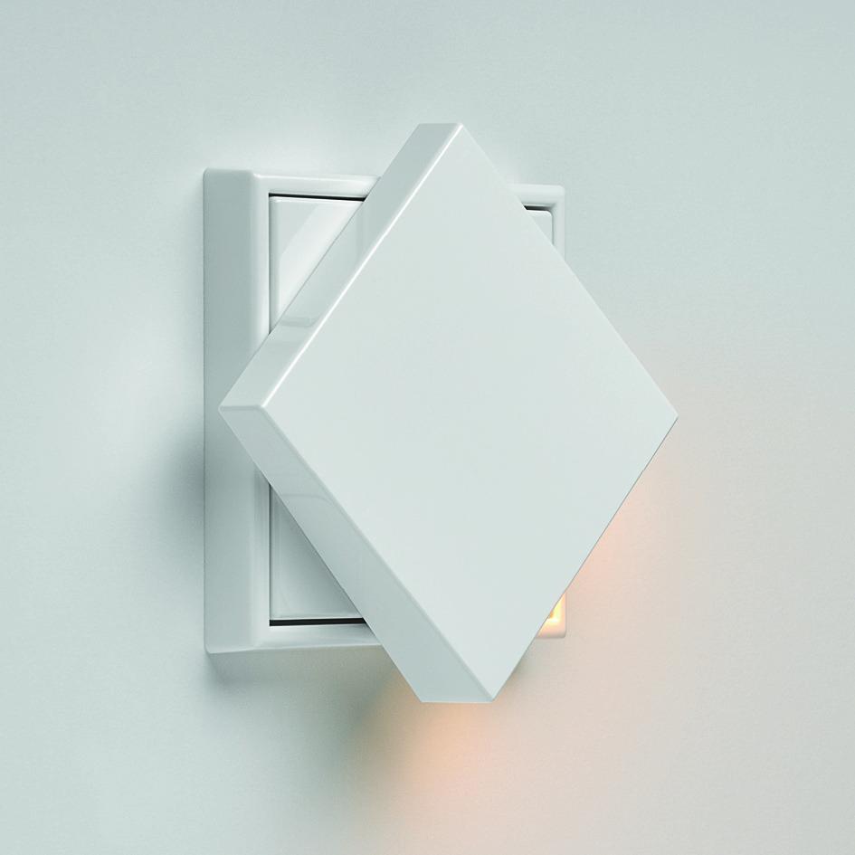 Close Up des Jung Plug & Light